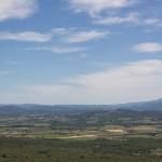 Kurz vor Gordes, Aussicht auf die Provence